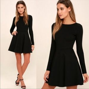 Lulu's Forever Chic Fit & Flare Dress.